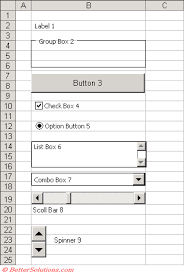 excel macros worksheet controls