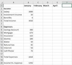 have 5 minutes create a free budget template in excel the