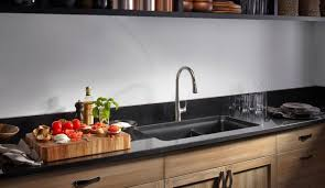 At Home Kitchen Sink Cast Iron Or Stainless Steel The Topeka - Kitchen sink cast iron