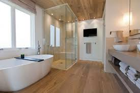 Bathroom White Porcelain Flooring Stainless by Bathroom Appealing Modern Bathroom Design Ideas With Varnished