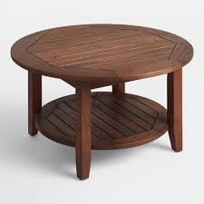Indoor Teak Furniture St Martin Outdoor Occasional Collection World Market