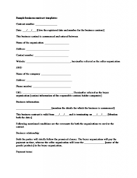 Free Event Planner Contract Template 19 Perfect Examples Of Business Contract Templates Thogati