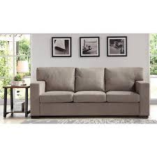 oxford sofa better homes and gardens oxford square sofa taupe walmart