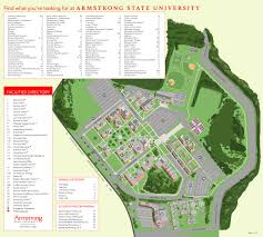 Iowa State Campus Map Georgia Southern University Campus Map Georgia Map