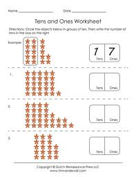 tens and units worksheets printable free printable tens and ones worksheets for grade 1
