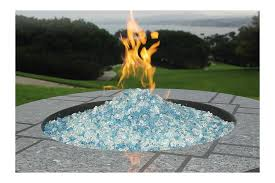 Fire Pit Rocks by Curved Fire Pit Glass Rock Attractive Fire Pit Glass Rocks