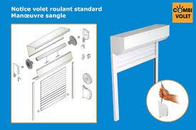 Volet Roulant Pour Meuble De Cuisine by Volet Roulant Interieur Renovation 4 Notice De Montage Kit Eco