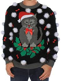 cat sweater s sweater cat sweater with bells by tipsy