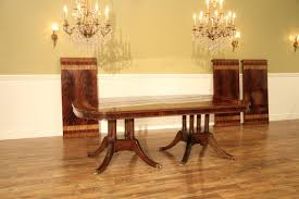large 13 foot mahogany dining table seats 16 people