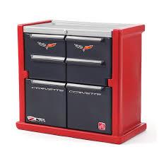 Step Two Art Desk Amazon Com Step2 Corvette Dresser For Kids Durable 4 Drawer