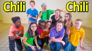 Youtube Thanksgiving Songs For Kids Dance Songs For Children Brain Breaks Chili Chili The