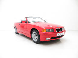an exceptional bmw e36 318i convertible with just 35 167 miles and
