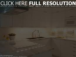 kitchen with wood cabinets and white appliances monsterlune