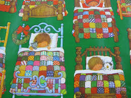 vintage christmas wrapping paper rolls vintage christmas wrapping paper roll 24 wide children in beds