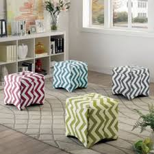 Chevron Storage Ottoman Chevron Ottomans U0026 Storage Ottomans Shop The Best Deals For Nov