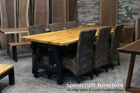live edge round table dining table live edge dining table columbus ohio river rock live