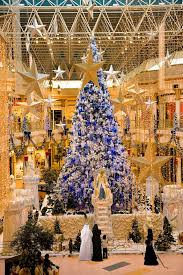 dubai tree at wafi mall shopping centre http