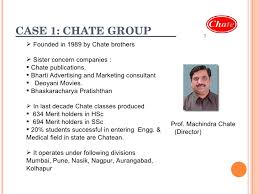Chate by Marketing Of Education In India
