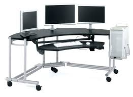 standing desk on wheels computer desk with wheels computer desk on wheels stylish desks in