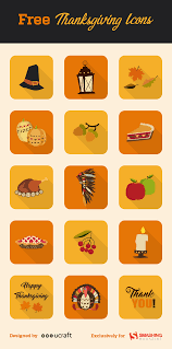 how to celebrate thanksgiving day freebie thanksgiving icon set 15 icons png psd ai svg
