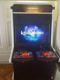 Xbox Arcade Cabinet Selfmade Cabinet Killer Instinct Artwork U0026 Videos Killer