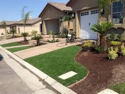 California Backyard Grass Turf Burbank California Backyard Deck Ideas Front Yard Design