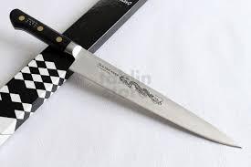 misono sweeden carbon steel japanese knife dragon engraving misono sweeden carbon steel japanese knife dragon engraving sujihiki slicer