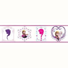 Decorative Wallpaper Borders Disney Frozen Wallpaper Borders Stickers Brand New Official