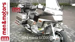 1984 honda gl1200 goldwing review youtube