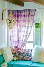tie dye home decor 7 ways to bring boho chic into your home décor drop cloth curtains