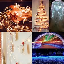 slow twinkling christmas lights 10 meter long outdoor led christmas light string