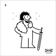 Ikea Blind Instructions Ikea Releases Instructions How To Make U0027game Of Thrones U0027 Cape