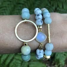 gemstone beaded bracelet images Gemstone bead bracelets nikki smith designs jpg