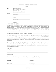 contractor contract template building contractor form png letter
