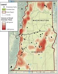 Map Of Oregon And Washington by New Study Finds Opportunities For Climate Smart Forestry Ecotrust