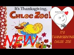 its thanksgiving zoe brand new books for read aloud