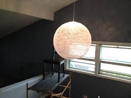 Globes For Chandelier Diy String Globe Chandelier Tutorial Keeps On Ringing