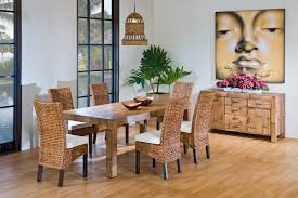 rattan dining chair in indoor rattan fibre category dining room