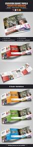 Real Estate Prospectus Template by Education Square Trifold Prospectus Brochure By Miyaji75