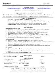 job resume executive assistant resume sample assistant manager