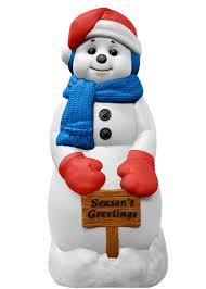 Outdoor Lighted Snowman Outdoor Lighted Christmas Decorations For Sale