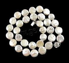 round freshwater pearl necklace images Natural freshwater pearl jewelry sets earring necklace brass clasp jpg