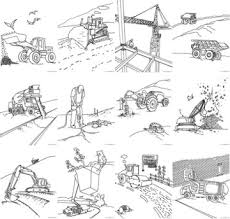 100 ideas construction vehicles coloring pages on www