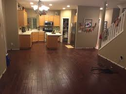 Laminate Flooring Concrete Slab How Can I Secure Fasten A Half Installed Floating Engineered