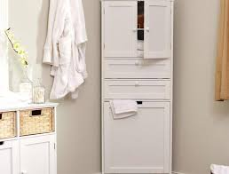 linen cabinet with hamper for small spaces u2014 jburgh homes best