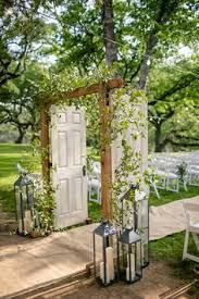 wedding arch using doors outdoor wedding arch inspo for a rustic themed wedding this diy