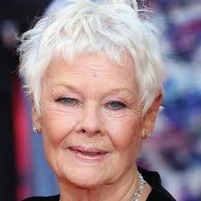 judi dench hairstyle front and back of head judi dench sponsored young actor to help his career celebrity news