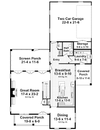 narrow lot house plans with rear garage house plan 59224 at familyhomeplans com