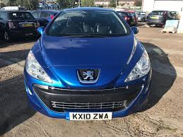 peugeot sports cars for sale peugeot 308 cc 2 0 hdi gt 2d for sale parkers