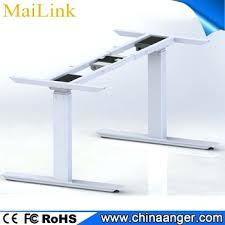 L Shaped Adjustable Height Desk Desk Height Adjustable Desk Frame Only Uk Jarvis Electric